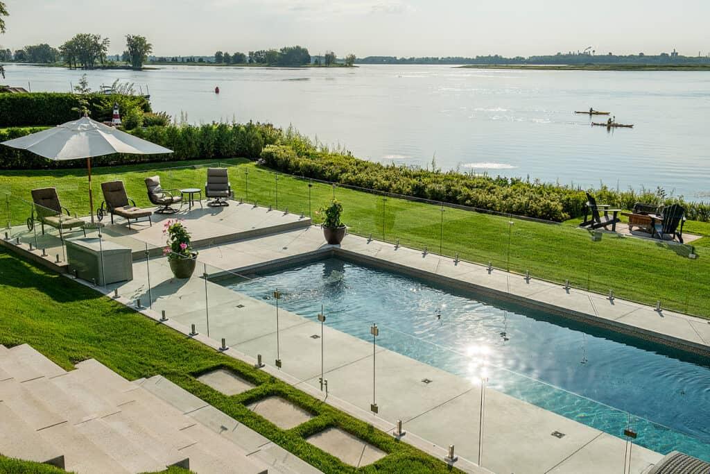 Services Paysagers Dominique Fillion - style aménagement paysager moderne